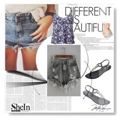 """""""SheIn"""" by meriiiii ❤ liked on Polyvore featuring IPANEMA, WithChic and Miss Selfridge"""
