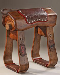 Custom Saddle Stand