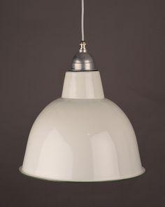 Industrial Lighting, Enamel pendant light