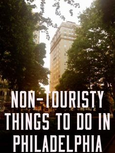 Looking for some non-touristy things to do in Philadelphia? Check out these 5 options: Rittenhouse Square, Reading Terminal Market, Mutter Museum, and more. Philadelphia Things To Do, Visit Philadelphia, Philadelphia Attractions, Weekend Trips, Day Trips, Weekend Getaways, Oh The Places You'll Go, Places To Travel, Travel Stuff