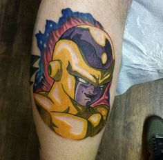 Golden frieza Dragon Ball, Dbz, Tatting, Tattoo Ideas, Portrait, Anime, Guys, Tatoo, Dragon Design