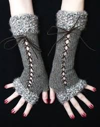 victorian lace knitted gloves pattern - Google Search