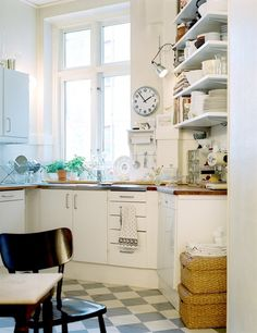A home in Malmö, Sweden.  Photo from the real estate agency Mäklarhuset.