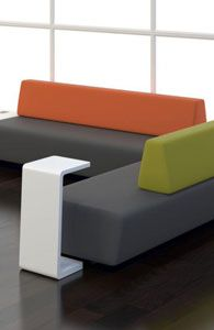 Add some fun colors for the office waiting area!