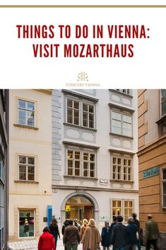 Looking for culturally-rich things to do in Vienna, Austria? You've got to visit Mozarthaus! Tap this pin to discover everything you need to know about the incredible place. Travel Around Europe, Places In Europe, Europe Travel Tips, Best Places To Travel, Cool Places To Visit, Travel Destinations, Travel Guide, Great Buildings And Structures, Modern Buildings