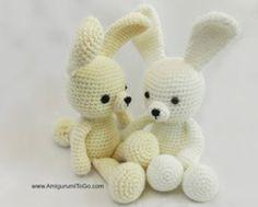 Spring Time Dress Me Bunny - free crochet pattern - Free Crochet Bunny Patterns - The Lavender Chair