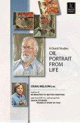 A Quick Studies Oil Portrait From Life with Craig Nelson | http://ccpvideos.com/products/cn2d | Craig Nelson uses his quick studies approach to develop a portrait of an in-studio model, in a logical manner, from a line drawing to a beautiful three dimensional portrait.