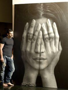 Saatchi Online Artist Tigran Tsitoghdzyan; Painting, Mirror #art