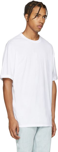 Mens Jersey Oversized T-Shirt Helmut Lang In China Cheap Price Big Discount Sale Online gBxzC