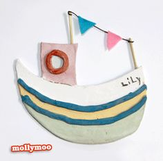 mollymoo.ie - Simple Clay Boats