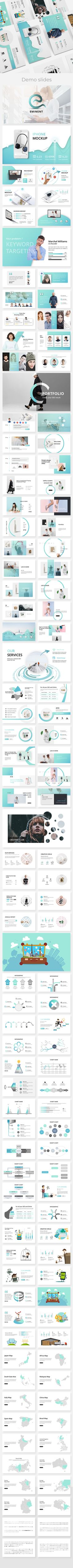 Eminent Creative Keynote Template