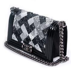 Chanel Sequin Boy Flap Bag