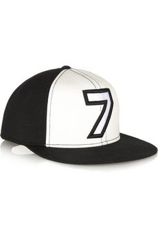 f810aded75c Karl Lagerfeld - Number 7 cotton baseball cap