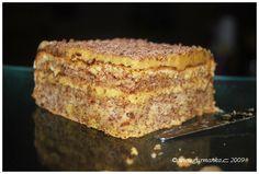 Moka dort naší babičky Eastern European Recipes, Shortbread, Banana Bread, French Toast, Good Food, Baking, Breakfast, Sweet, Cakes