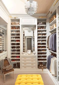 5 Elements of a Dream Closet - Centre Line Home Design