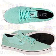 01de202a2 DC SHOES WOMENS BRISTOL GREEN CASUAL SNEAKERS SKATE  DCShoes   SkateboardShoes  Sneakers Skate Wear