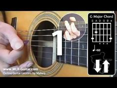 "Beginners Guitar Lessons : ""Strumming Practice 1"""
