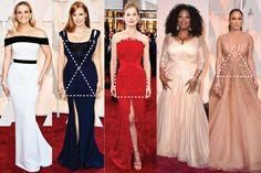 Tipos de cuerpo: Edición los Oscares. Checa los trucos que usan las celebridades para lucir espectacular!