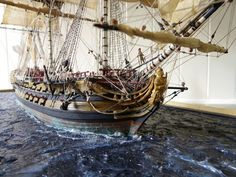 Boat Models, Wooden Tall Ship Models, Sailboats For Decoration, Modern Nautical Bedroom Decor, Decorative Oars and Paddles Scale Model Ships, Scale Models, Model Sailing Ships, Model Ship Building, Hms Victory, Nautical Art, Nautical Bedroom, Bedroom Decor, Adventure Of The Seas
