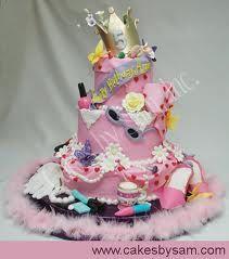 A Fancy Nancy cake.