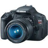 Canon EOS Rebel T3i 18 MP CMOS APS-C Sensor DIGIC 4 Image Processor Full-HD Movie Mode Digital