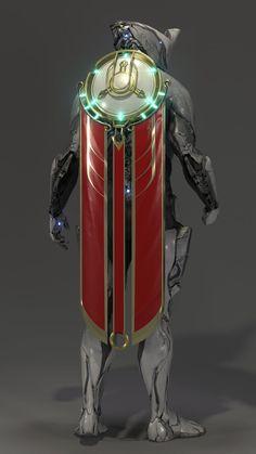 Orokin Syandana by digital-shuriken