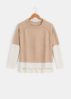 Colorblock Keiran Sweater   Rodale's