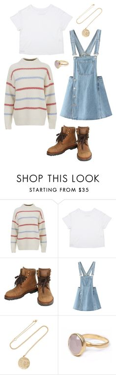 """""""Untitled #2851"""" by lespybook ❤ liked on Polyvore featuring Chanel, WithChic, BROOKE GREGSON and Bohemia"""
