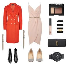 """""""Day to night look"""" by weijin ❤ liked on Polyvore"""