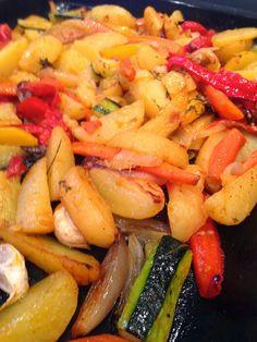 les secrets de la recette: Légumes rôtis au four