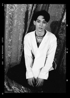 Chen - 160814 'Lotto' comeback teaser photo Credit: Official EXO website.