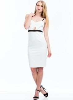 Two-Way Traffic Strappy Cut-Out Dress