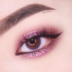 Sparen Sie nicht kostenlos ok! Asian Makeup Looks, Cool Makeup Looks, Korean Eye Makeup, Cute Makeup, Pink Eye Makeup, Smokey Eye Makeup, Girls Makeup, Eyeshadow Makeup, Makeup Inspo