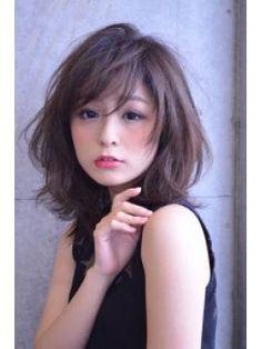 [可愛い]女子力倍増!!!ゆるふわミディアムレングスなヘア画像まとめ - NAVER まとめ