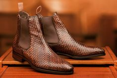Finally got a confirmation email from @skoaktiebolaget for the GMTO I participated 7 months ago. Can't wait for this baby to arrive in Brunei! #carminashoemaker #braidedleather #chelseaboots #treatyoself Photo courtesy of #skoaktiebolaget by shahamir.h