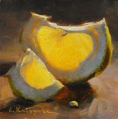 """""""Suntouched"""" - Pintura de Elena Katsyura"""