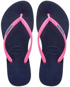 677e609ffa339 Havaianas Flip Flop - Navy Pink from Chocolate Shoe Boutique