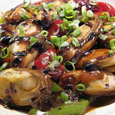 Sauteed Mussels w/ Black Bean Sauce - Cousin Cafe - Zmenu, The Most Comprehensive Menu With Photos
