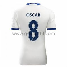 maillot de foot Premier League Chelsea 2016-17 Oscar 8 maillot third