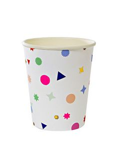 Meri Meri Toot Sweet Charm Pattern Party Cup