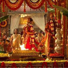 Ram and Sita's wedding