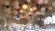 2016 Pantone Colours of the Year inspire wedding lantern styling