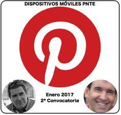 """Tablero de Pinterest para el curso """"Dispositivos Móviles en el Aula"""" del PNTE. Enero 2017. 2ª convocatoria."""