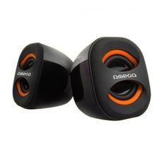Omega OG115 to kompaktowych rozmiarów, atrakcyjnie wyglądające głośniki zasilane z portu USB. Głośniki zaskakują wysoką jakością i siłą dźwięku. Dzięki zasilaniu z portu USB głośniki nie przegrzewają się i nie wymagają osobnego zasilacza - co pomaga utrzymać porządek i jest wygodne w podróży lub podczas przenoszenia głośników. Z boku posiadają regulację głośności.  Produkt w kolorze czarno-pomarańczowym.