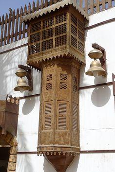 P1040349 | Abdullah AlBargan | Flickr Vernacular Architecture, Islamic Architecture, Art And Architecture, Architecture Details, Shoe Store Design, Unusual Homes, Moorish, Wood Design, Exterior Design