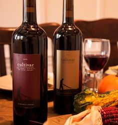 """@cultivarwine red wine pairing recommendations for your Thanksgiving feast: Cultivar Oak Knoll Cabernet Franc, Cultivar Napa Valley Cabernet Sauvignon, and Cultivar Phoenix Ranch Syrah. <a class=""""pintag searchlink"""" data-query=""""%23wine"""" data-type=""""hashtag"""" href=""""/search/?q=%23wine&rs=hashtag"""" rel=""""nofollow"""" title=""""#wine search Pinterest"""">#wine</a> <a class=""""pintag searchlink"""" data-query=""""%23cabernetsauvignon"""" data-type=""""hashtag"""" href=""""/search/?q=%23cabernetsauvignon&rs=hashtag"""" rel=""""nofollow""""…"""
