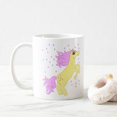 Sugar Horse Magic Pink Rain Coffee Mug