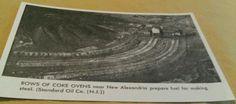 Old New Alexandria Shieldsburg PA Rows of Coke Ovens Coal Mine Postcard Repo   eBay