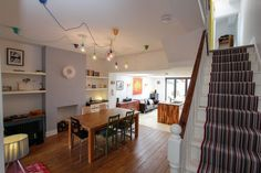 Film Location House-Open Plan Victorian terrace in Dulwich