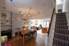 Film Location House-Open Plan Victorian terrace in Dulwich